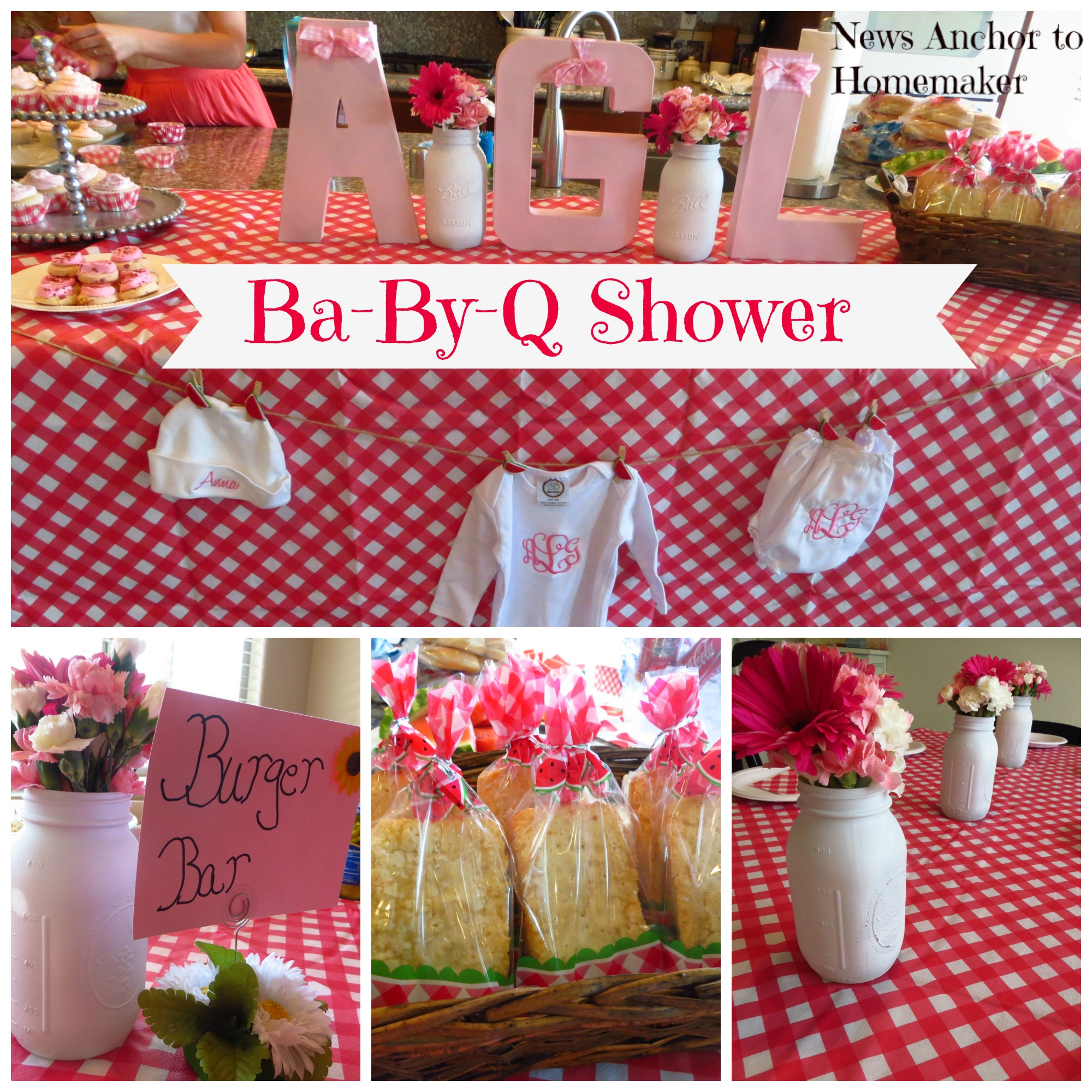 babyq shower {coed barbecue themed baby shower}  news anchor, Baby shower