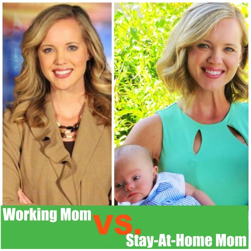 Working Mom Vs. Stay-At-Home Mom: The Debate with No Winners