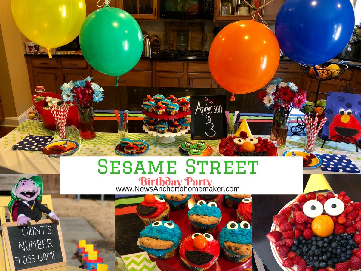 Sesame Street Birthday Party - Jillian Benfield
